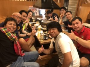 タイの実習生 親睦会開催