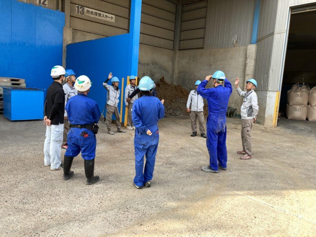 瀬戸工場 2021年9月 安全ミーティング